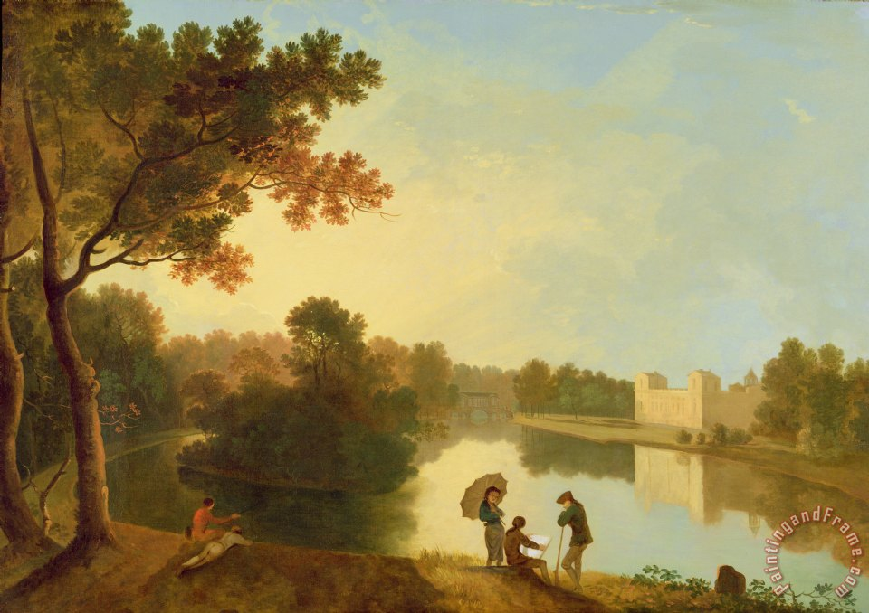 Richard Wilson Wilton House From The South East Painting