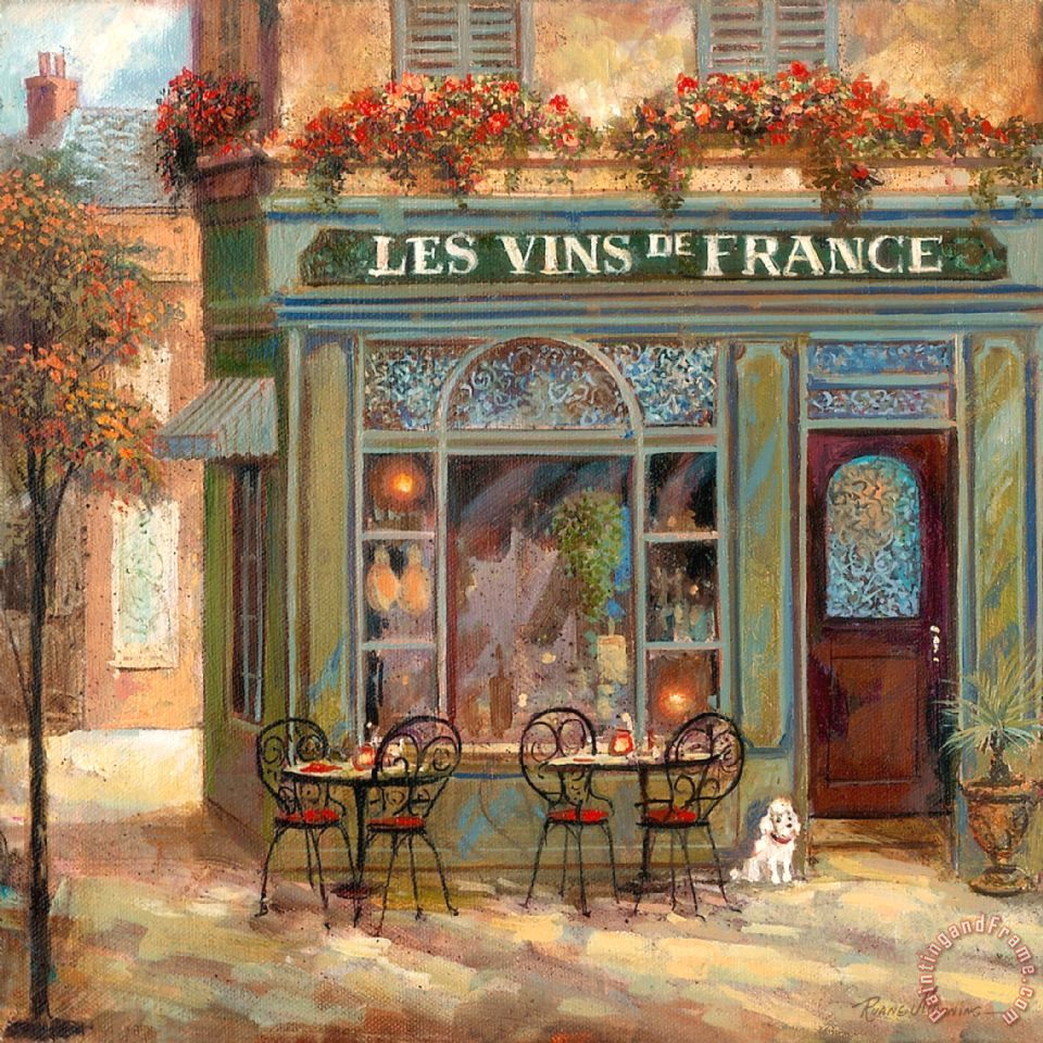 Ruane Manning Wine Shop Art Painting