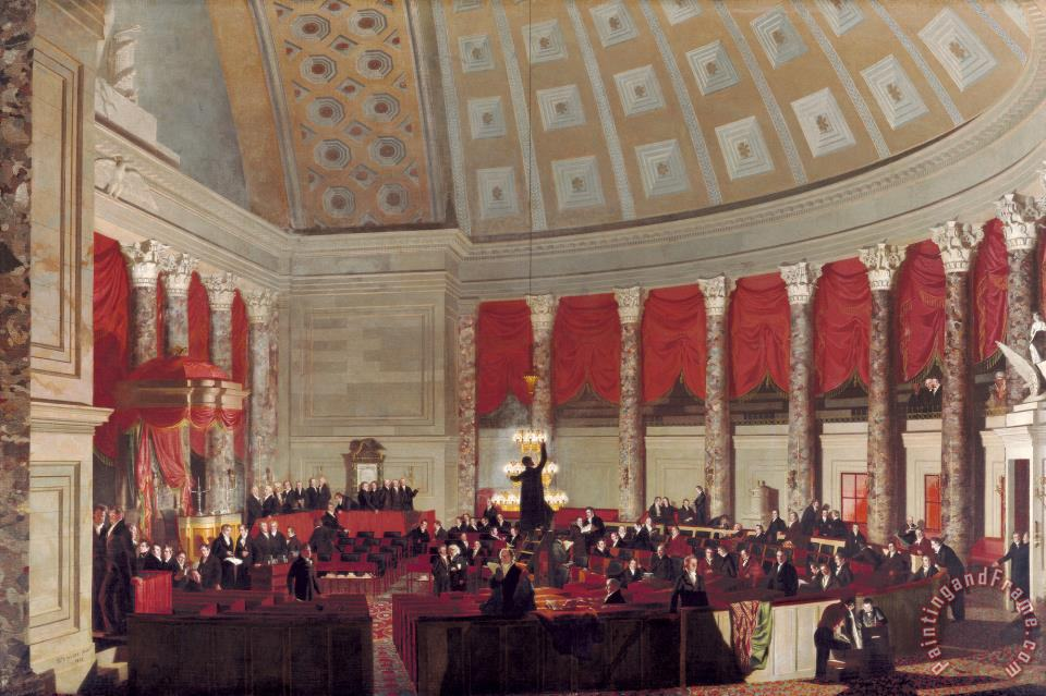 Samuel Finley Breese Morse The House Of Representatives