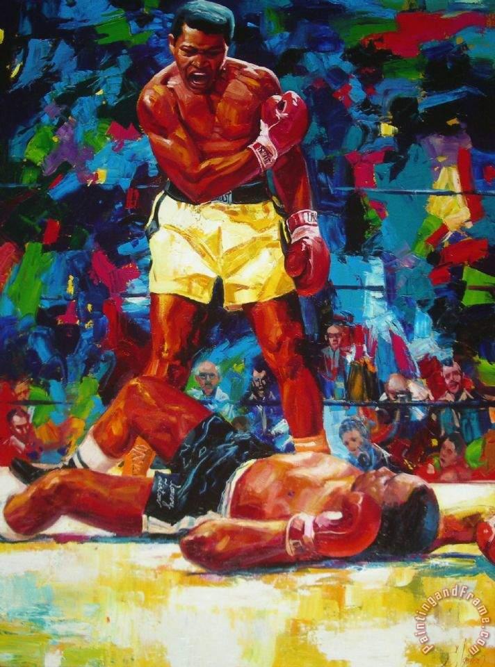 Sergey Ignatenko Muhammad Ali Painting Muhammad Ali