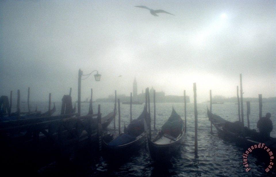 Simon Marsden View Of San Giorgio Maggiore From The