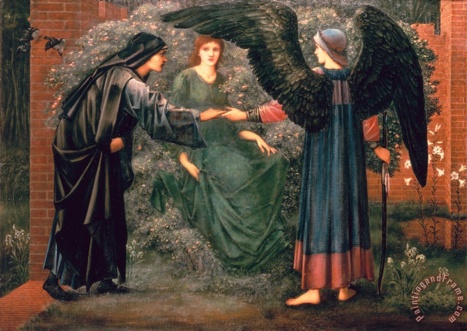 Edward Burne Jones Paintings For Sale