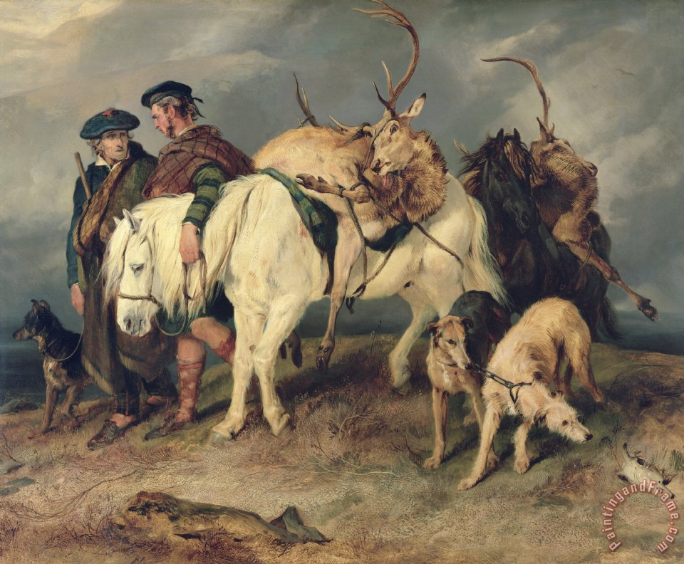 The Deerstalkers Return painting - Sir Edwin Landseer The Deerstalkers Return Art Print