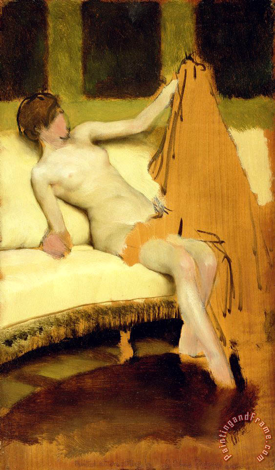 Sir Lawrence Alma-Tadema Female Nude Art Print