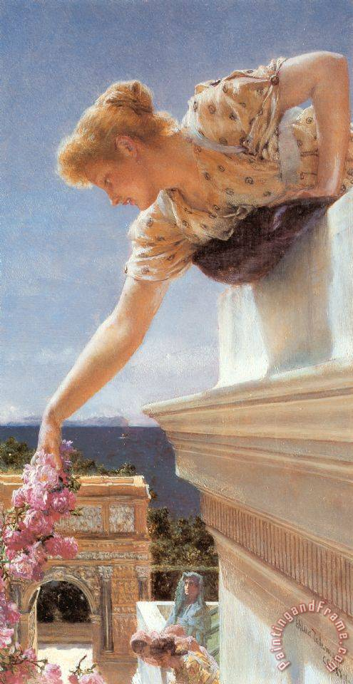 Sir Lawrence Alma-Tadema God Speed! Art Print