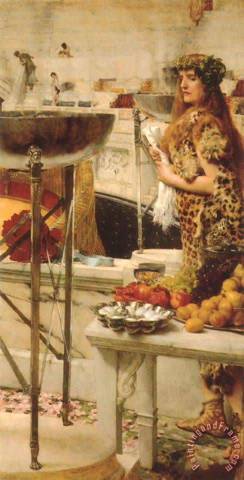 Preparation in The Coliseum painting - Sir Lawrence Alma-Tadema Preparation in The Coliseum Art Print