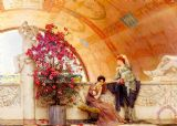 Unconscious Rivals by Sir Lawrence Alma-Tadema