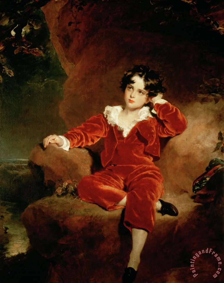 Master Charles William Lambton painting - Sir Thomas Lawrence Master Charles William Lambton Art Print