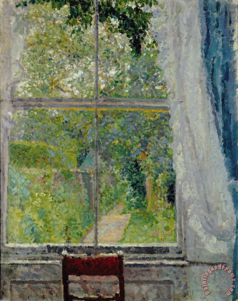 View from a Window painting - Spencer Frederick Gore View from a Window Art Print