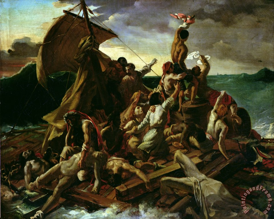 Theodore Gericault The Raft of the Medusa Art Painting
