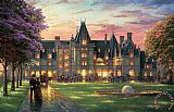 Elegant Evening at Biltmore by Thomas Kinkade