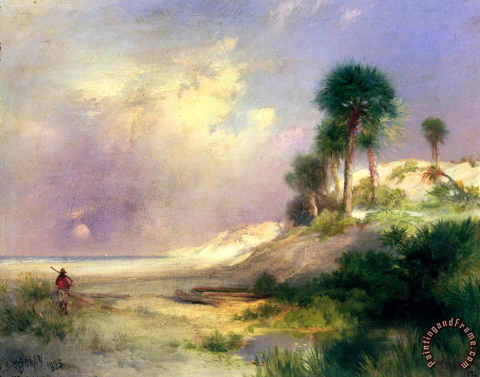 Thomas Moran Florida Painting Florida Print For Sale