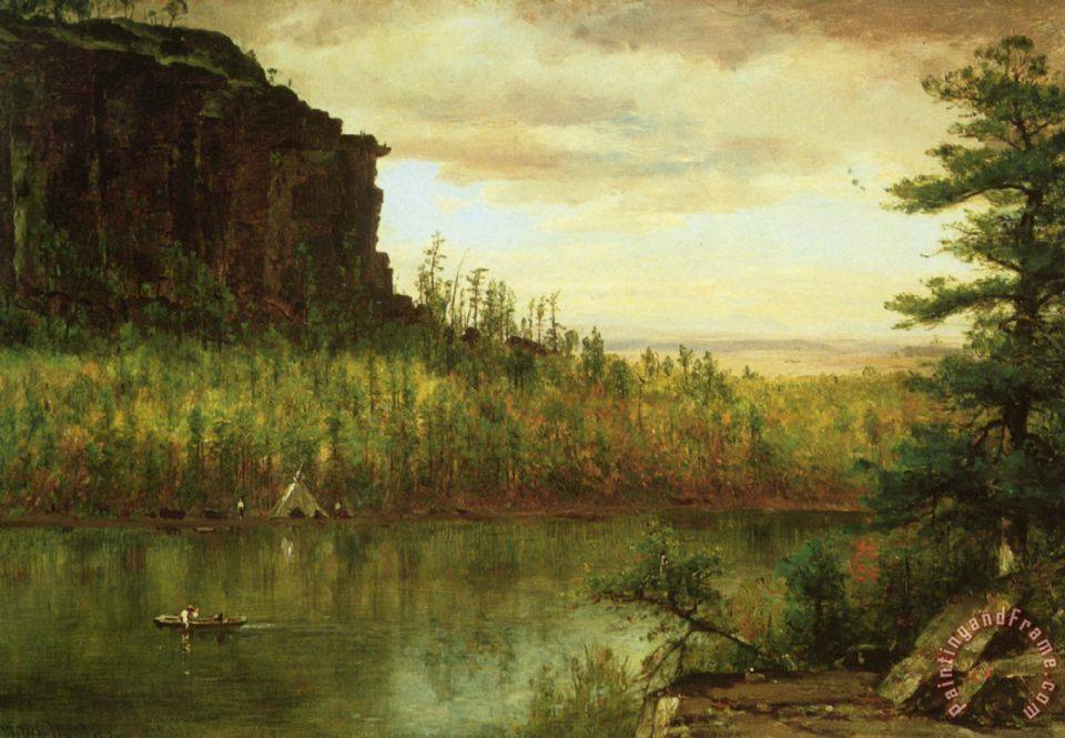 Thomas worthington whittredge landscape near fort collins for Nearby landscapers