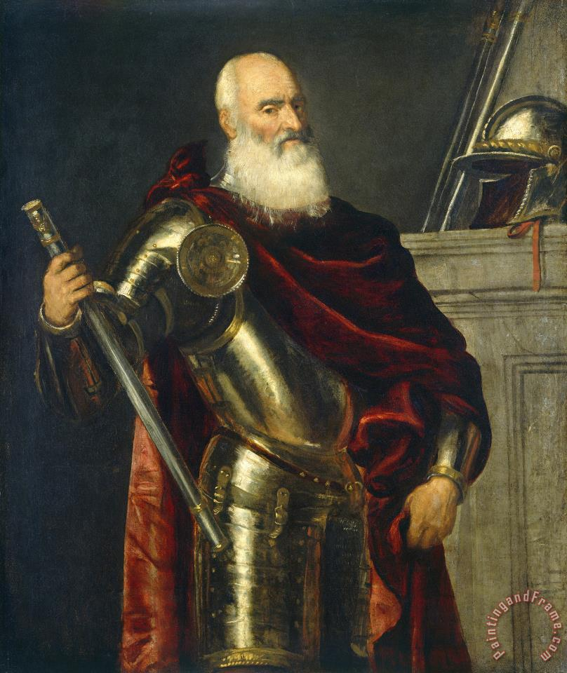 Vincenzo Cappello painting - Titian Vincenzo Cappello Art Print