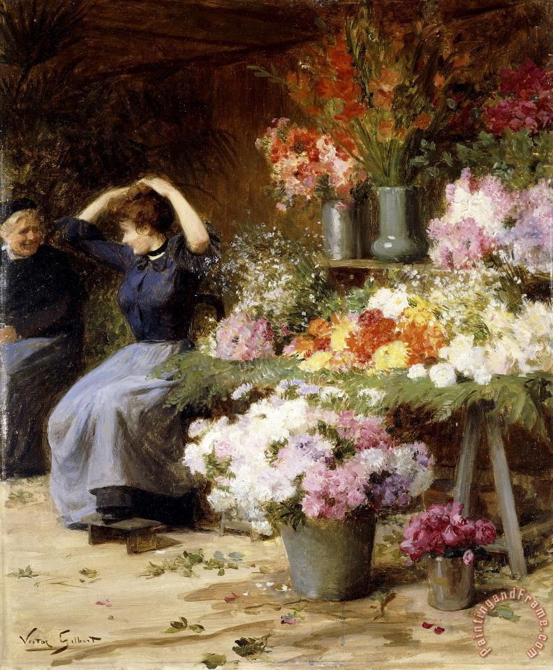Victor Gabriel Gilbert Paintings For Sale