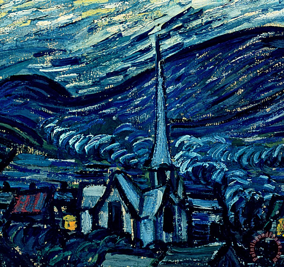 van gogh starry night and influence Art historian and curator cornelia homburg describes the influence that  prints had on the portraiture and landscape work of van gogh and.
