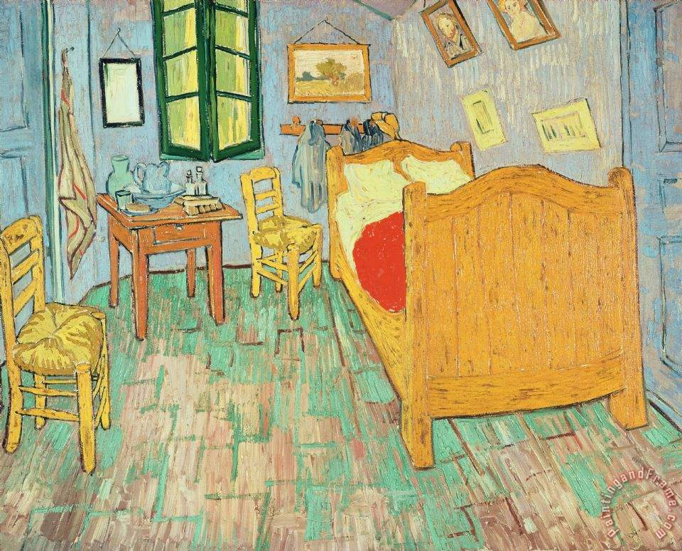 vincent van gogh van goghs bedroom at arles painting van