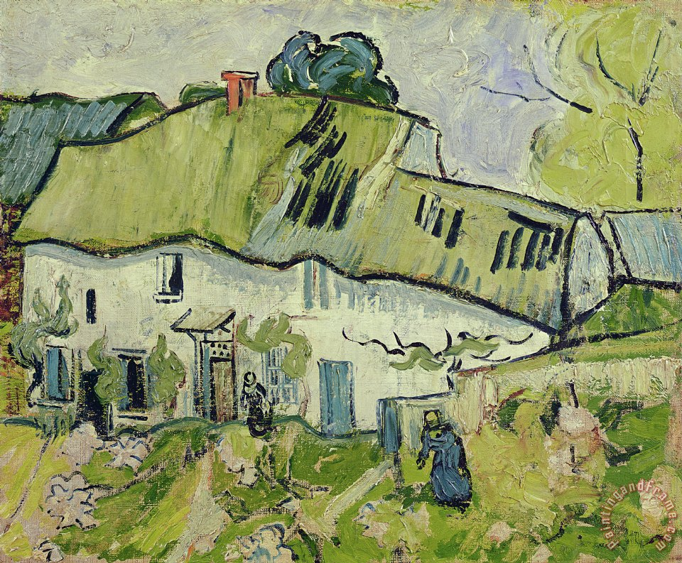 Vincent van Gogh The Farm in Summer Art Print