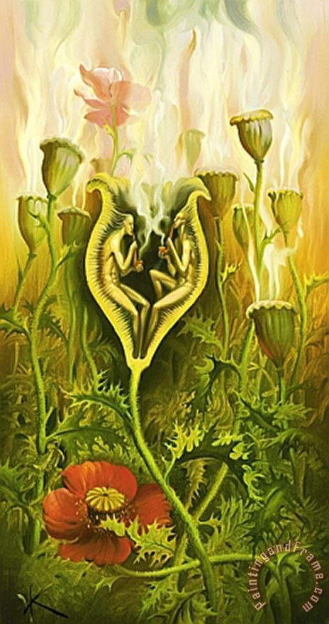 Opium Lovers painting - Vladimir Kush Opium Lovers Art Print