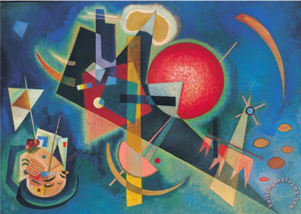 Wassily Kandinsky Im Blau 1925 painting - Im Blau 1925 ...