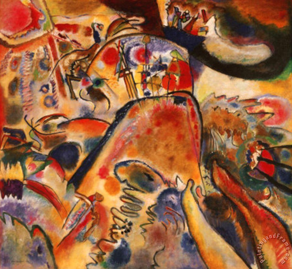 Wassily Kandinsky Kleine Freuden 1913 painting - Kleine ...
