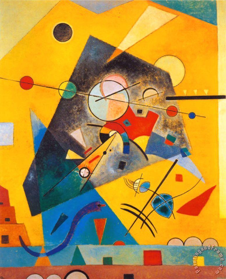 Wassily Kandinsky Quiet Harmony Painting Quiet Harmony
