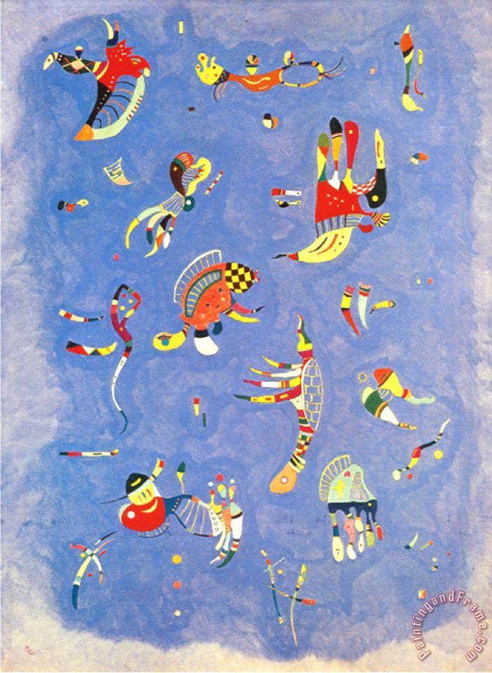 Wassily Kandinsky Sky Blue C 1940 painting - Sky Blue C ...
