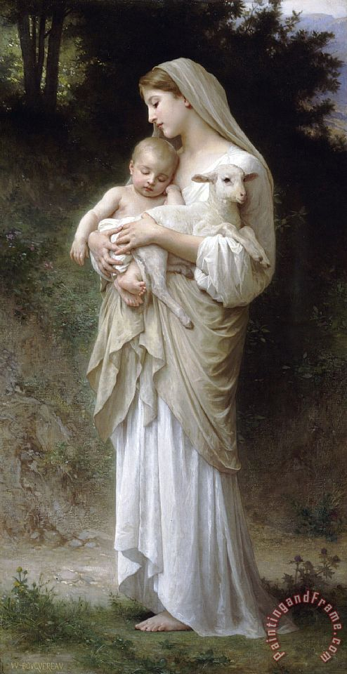 William Adolphe Bouguereau L'innocence Art Print