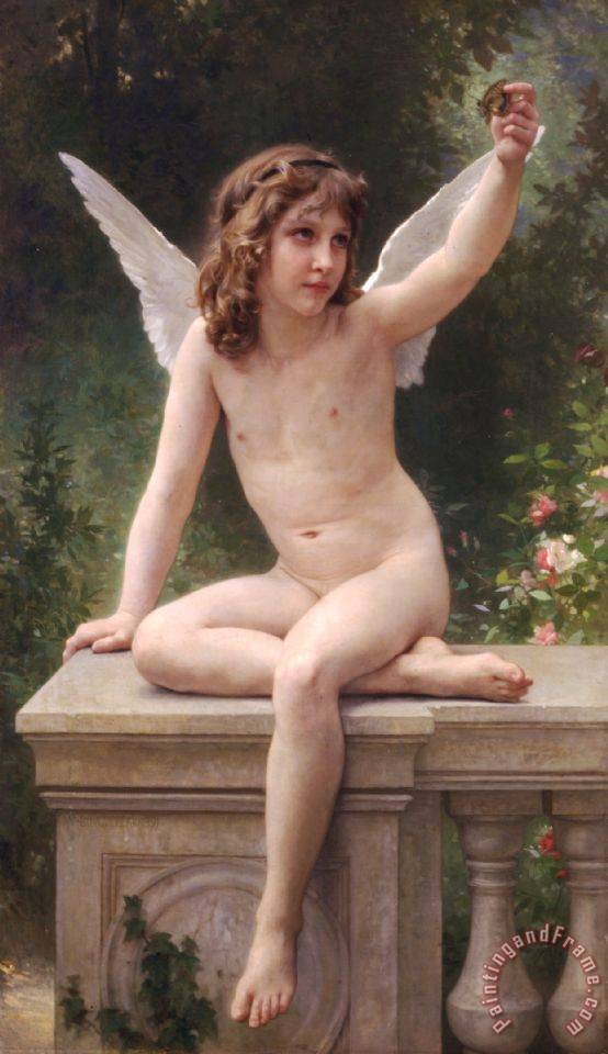 The Prisoner painting - William Adolphe Bouguereau The Prisoner Art Print