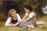 The Nut Gatherers (1882) by William Adolphe Bouguereau