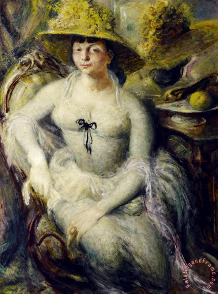 William Dobell Margaret Olley Painting Margaret Olley