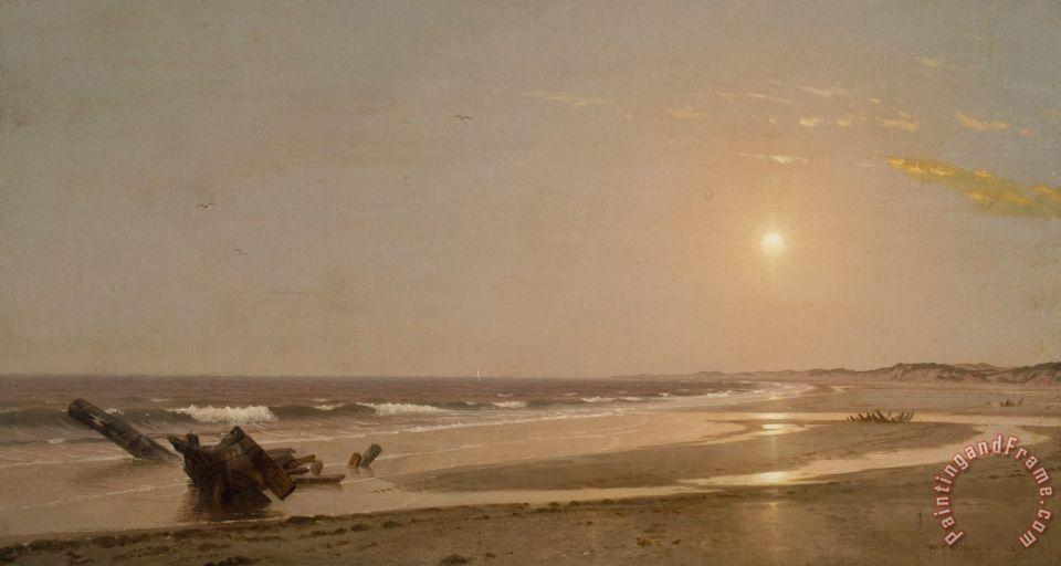 Seascape Painting William Trost Richards Art Print